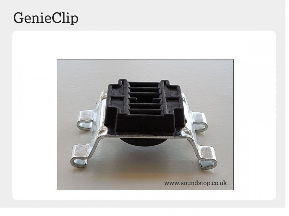 Genieclip 174 Rst World Class Wall Amp Ceiling Soundproofing